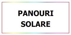Panouri solare in Romania